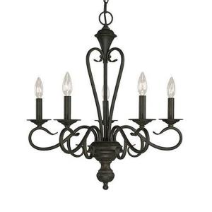 Devonshire Chandelier 5 Light-22.5 Inches Wide by 24.5 Inches High