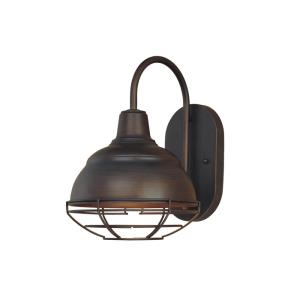 Neo- One Light Wall Sconce-8.25 Inches Wide by 11.5 Inches High