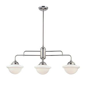 Neo-Industrial - 54 Inch 3 Light Island
