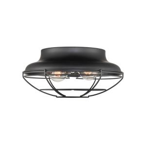 Neo- 2 Light Flush Mount-12 Inches Wide by 5.5 Inches High