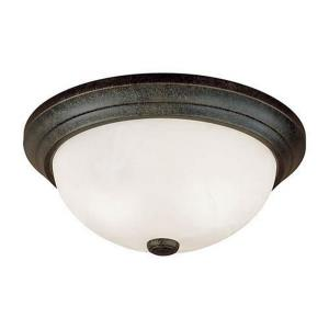 3 Light Flush Mount-5.5 Inches Wide by 5.5 Inches High