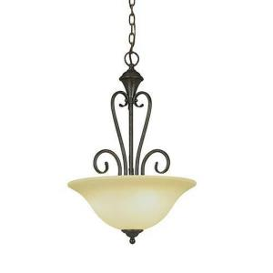 Devonshire-Three Light Pendant-16 Inches Wide by 24 Inches High