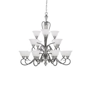 Devonshire-16 Light Chandelier-39.5 Inches Wide by 41 Inches High