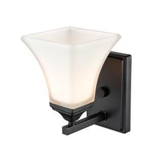 1 Light Wall Sconce-5.5 Inches Wide by 11.38 Inches High