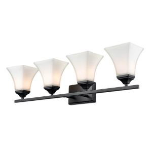 4 Light Bath Vanity-31.5 Inches Wide by 9 Inches High