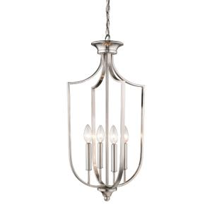 4 Light Pendant-13.75 Inches Wide by 27.5 Inches High