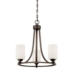 Bristo Chandelier 8 Light -19.5 Inches Wide by 21.5 Inches High