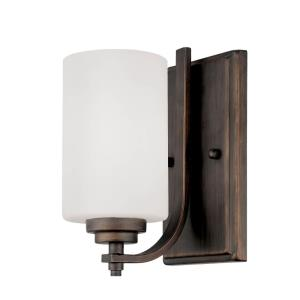 Bristo-1 Light Wall Sconce-5 Inches Wide by 8.5 Inches High