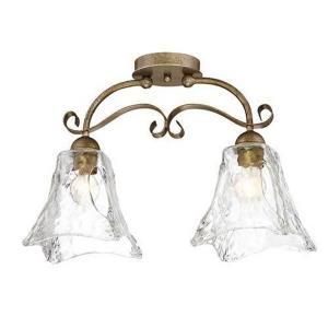 Chatsworth - Two Light Semi-Flush Mount