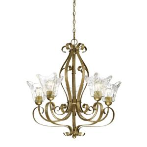 Chatsworth Chandelier 5 Light-26 Inches Wide by 28 Inches High