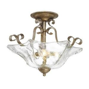 Chatsworth - Three Light Semi-Flush Mount