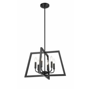 6 Light Pendant-18 Inches Wide by 30 Inches High