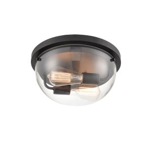 Ashford-Two Light Flush Mount-13 Inches Wide by 6 Inches High