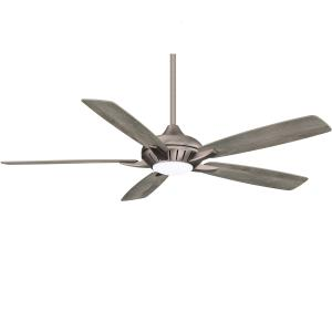 Dyno Xl - Smart Ceiling Fan With Light kit in Traditional Style - 15.51 inches tall by 60 inches wide