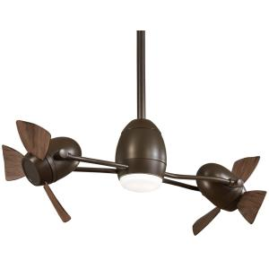 """Gyro - 42"""" Cage Free Ceiling Fan with Light Kit"""