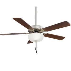 Contractor - Uni-Pack LED Ceiling Fan - 18 inches tall by 52 inches wide