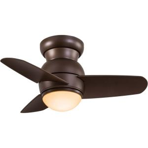 Spacesaver - 26 Inch Ceiling Fan with Light Kit