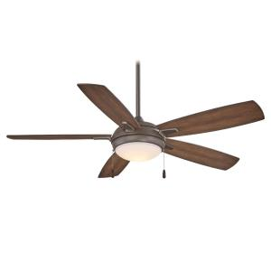 Lun-Aire - LED Ceiling Fan in Transitional Style - 15.25 inches tall by 54 inches wide