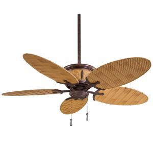"""Shangri-La - 52"""" Outdoor Ceiling Fan with Light Kit"""