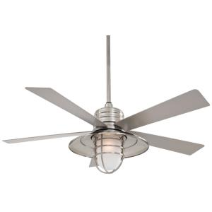 Rainman - 54 Inch Outdoor Ceiling Fan with Light Kit