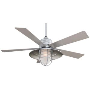 "Rainman - 54"" Outdoor Ceiling Fan with Light Kit"
