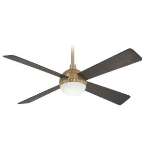 Orb - Ceiling Fan with Light Kit in Transitional Style - 16.75 inches tall by 54 inches wide
