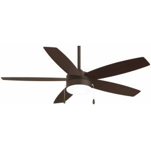 Airetor - Ceiling Fan with Light Kit - 14.5 inches tall by 52 inches wide