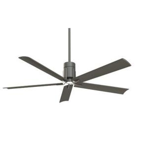 Clean - Ceiling Fan with Light Kit in Transitional Style - 16.5 inches tall by 60 inches wide