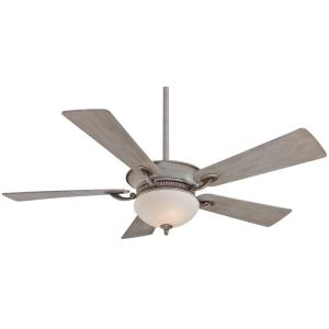 Delano - Ceiling Fan with Light Kit in Transitional Style - 15.5 inches tall by 52 inches wide