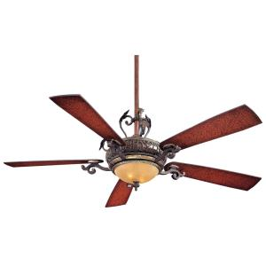 Napoli - 56 Inch Ceiling Fan with Light Kit