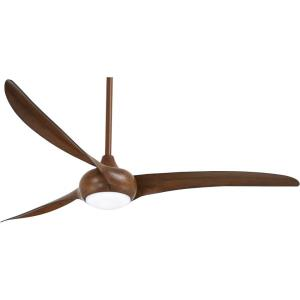 Light Wave - 65 Inch 3 Blade Ceiling Fan with Light Kit