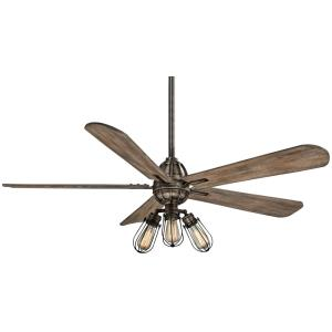 Alva - 58 Inch Ceiling Fan with Light Kit