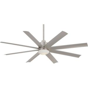 Slipstream - Ceiling Fan with Light Kit in Contemporary Style - 14.75 inches tall by 65 inches wide