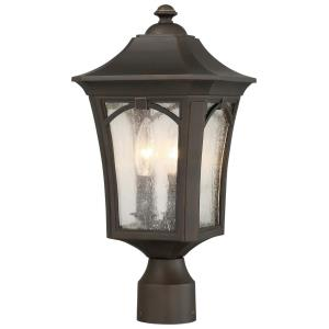 Solida - Three Light Outdoor Post Mount