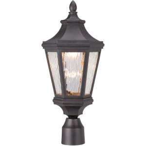 "Hanford Pointe - 20.25"" 14W 1 LED Outdoor Post Mount Lantern"