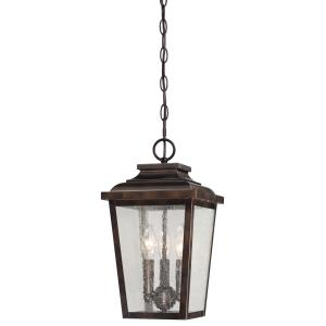 Irvington Manor - Three Light Outdoor Chain Hung Lantern