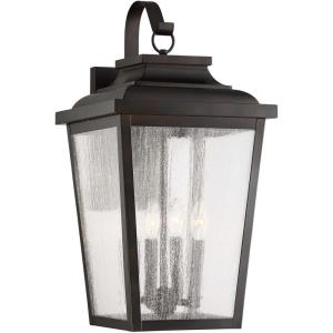 Irvington Manor - Four Light Outdoor Wall Mount