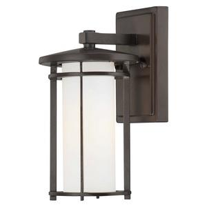 """Addison Park - 10"""" One Light Outdoor Wall Mount"""
