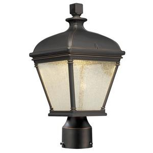 """Lauriston Manor - 15"""" 10W 1 LED Outdoor Post Mount"""