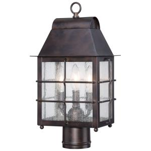 Willow Pointe - Three Light Outdoor Post Mount