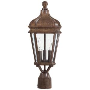 "Harrison - 20"" Three Light Outdoor Post Mount"