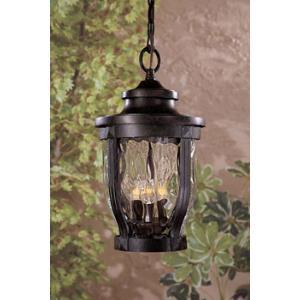 Merrimack - Three Light Outdoor Chain Hung Lantern