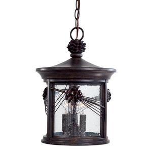 Abbey Lane - Three Light Outdoor Chain Hung Lantern