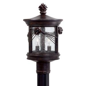 Abbey Lane - Two Light Outdoor Post Mount