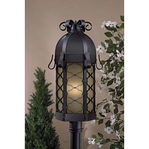 Montalbo - One Light Outdoor Post Mount Lantern
