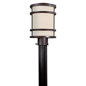 "Bay View - 12.5"" One Light Outdoor Post Mount"