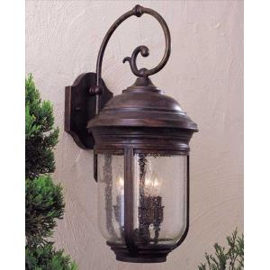 "Amherst - 22.5"" Three Light Outdoor Wall Mount"