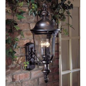 Morgan Park - Two Light Outdoor Wall Mount
