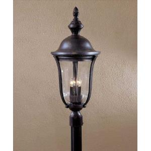 Morgan Park - Three Light Outdoor Post Mount