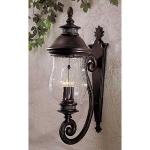 "Newport - 28"" Three Light Outdoor Wall Mount"